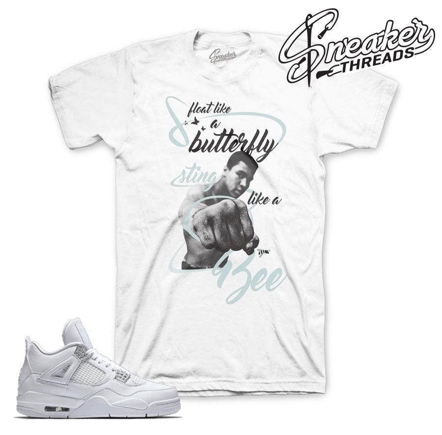 Jordan 4 pure money tee shirt | Sneaker Match Tees