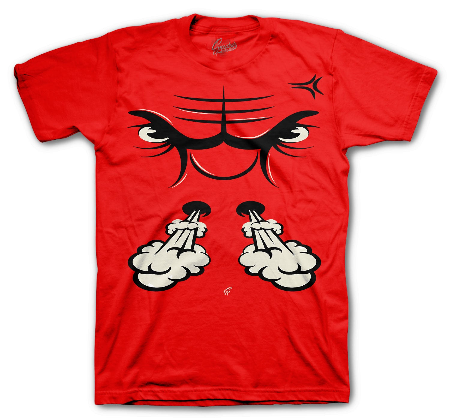Jordan 5 Raging Bull Rage Face Shirt