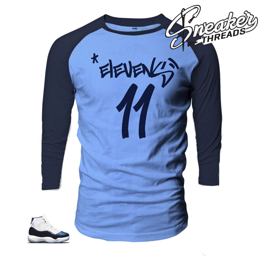 Jordan 11 Win Like 82 Graffiti Raglan