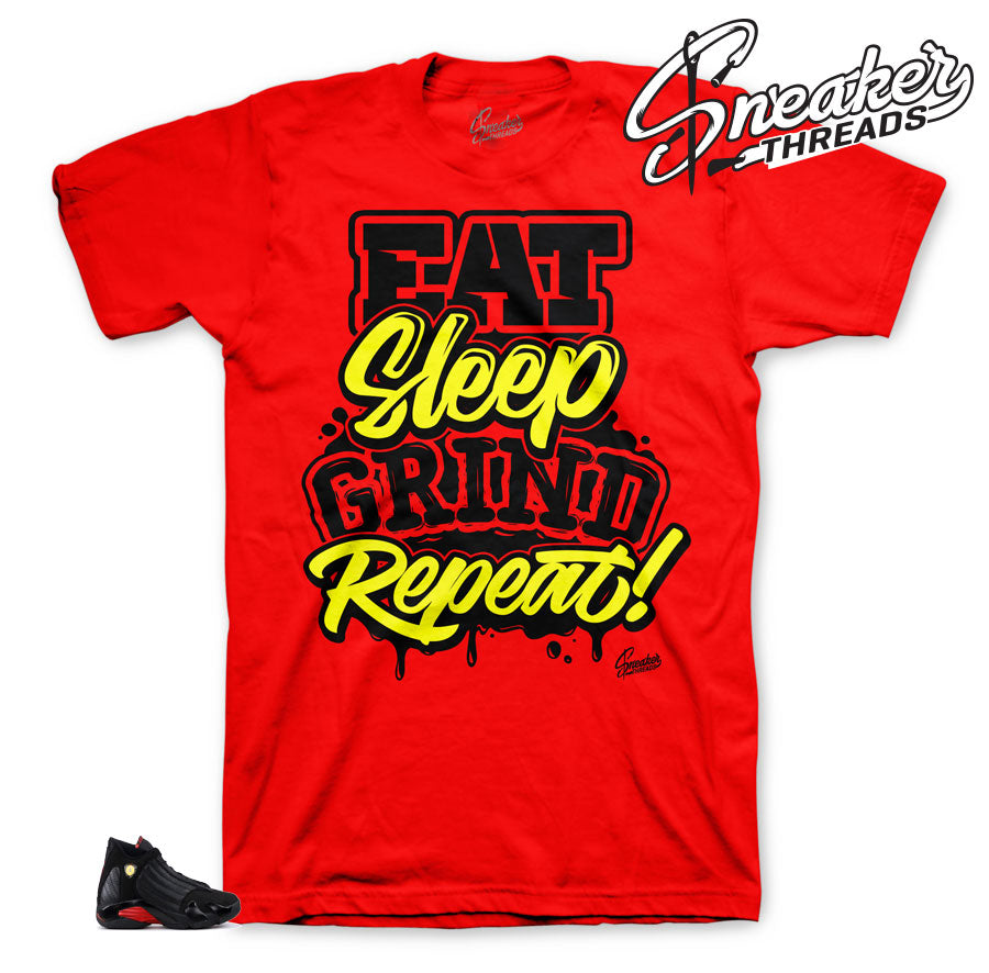 Jordan 14 Last Shot Grind Repeat Shirt