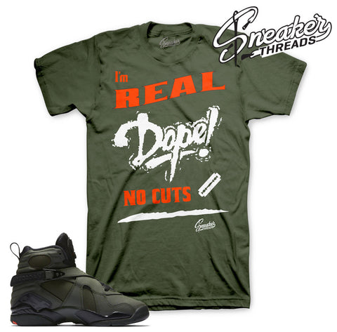 Retro Jordan 8 take flight tees match retro 8 sequoia shirts.