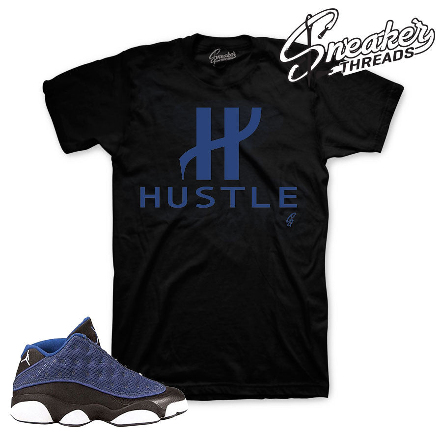 Jordan 13 brave blue shirts | Official sneaker match tee
