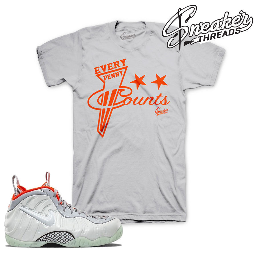 Fresh new foamposite yeezy platinum sneaker match tees.
