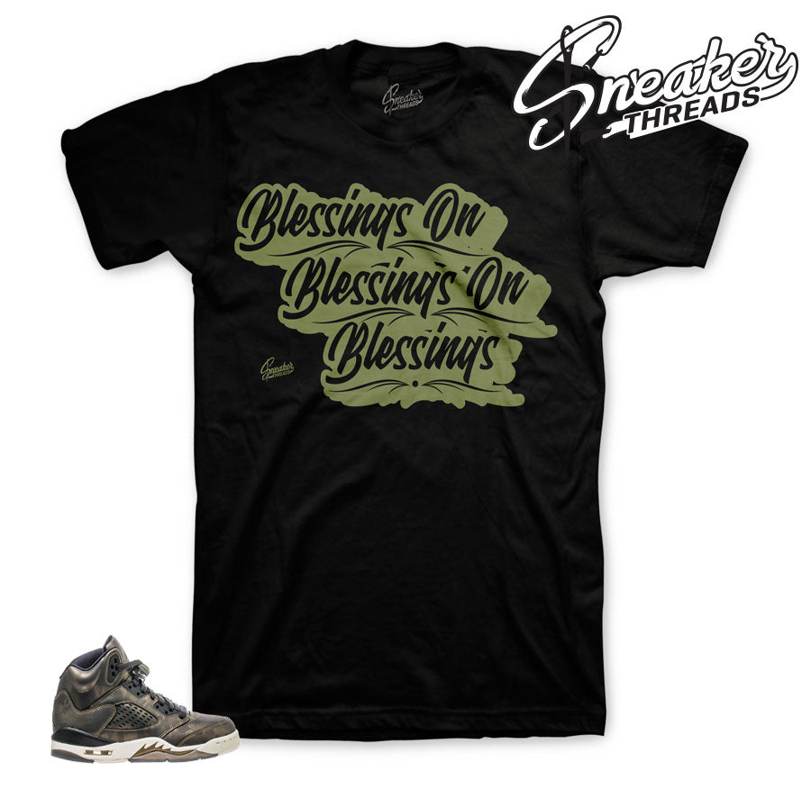 Heiress Jordan 5 camo shirts match | Official heiress sneaker tees.