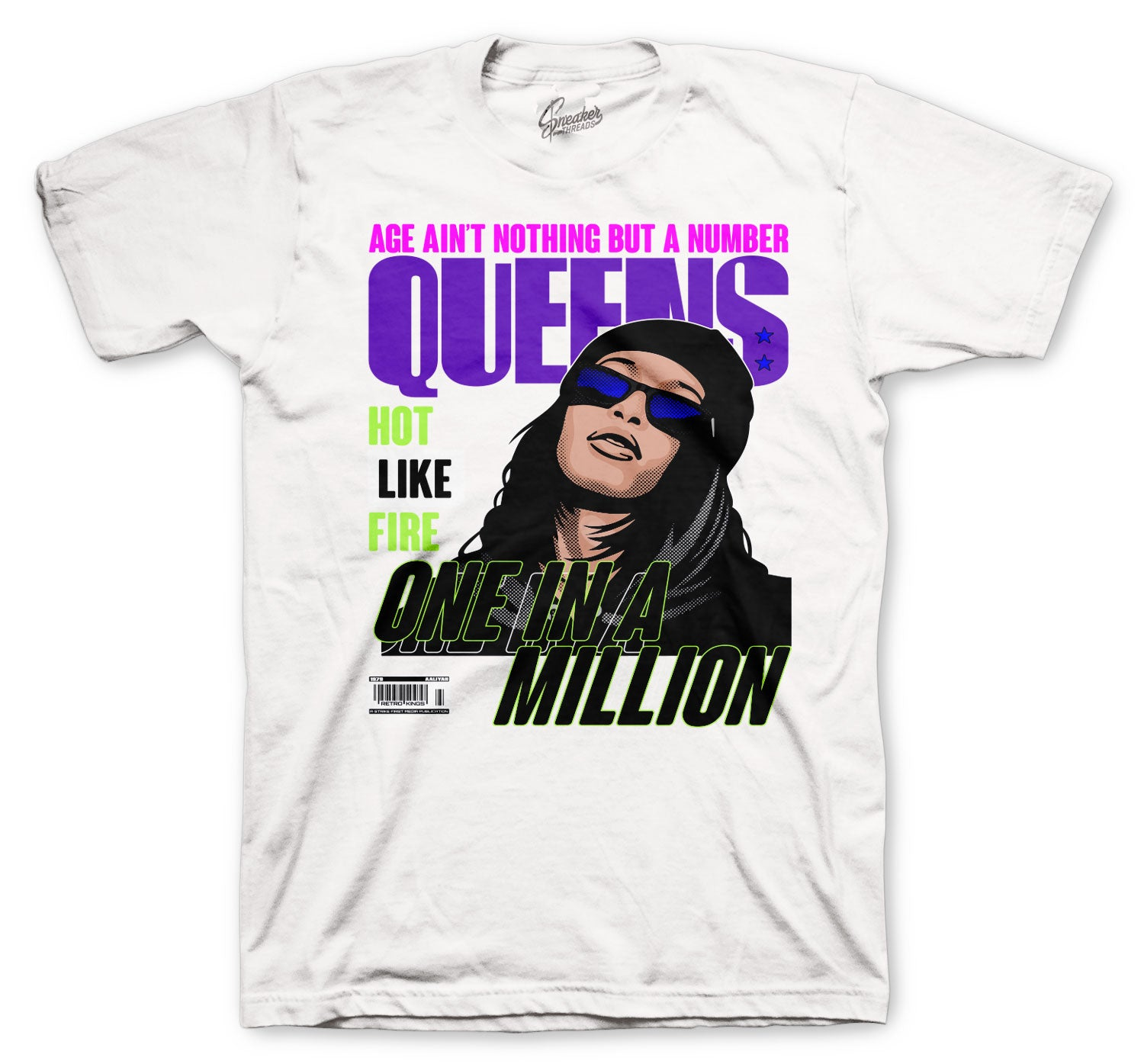Jordan 5 Alternate Bel Air Queens Million Shirt