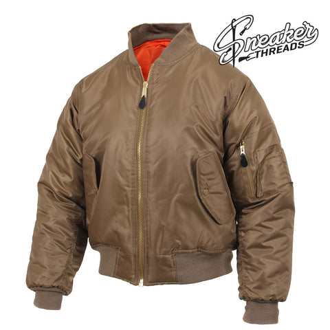 Newest ma-1 flight jackets to match your retro and foams shoes.
