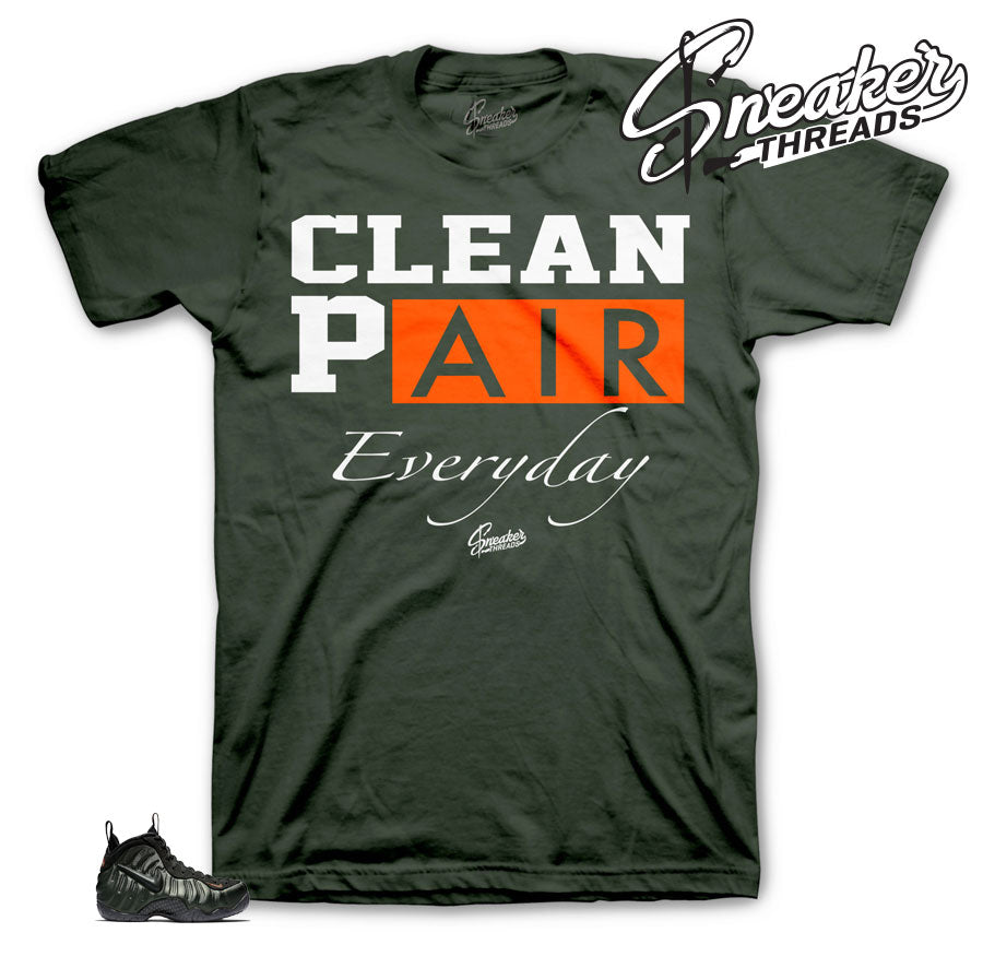 Foamposite sequoia sneaker tees | Sneaker Shirts Match Foam Sequoia.