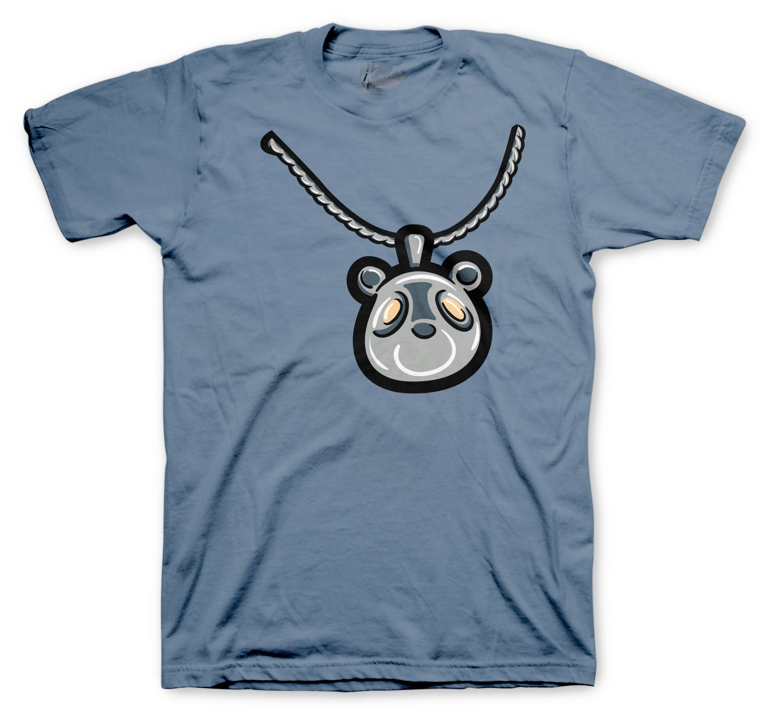 Yeezy 350 Ash Blue Bear Charm Shirt