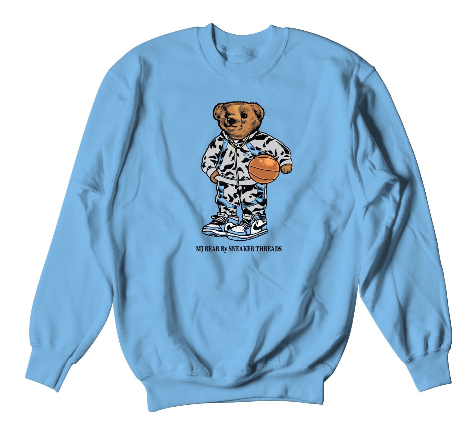Jordan 1 University Blue MJ Bear Sweater