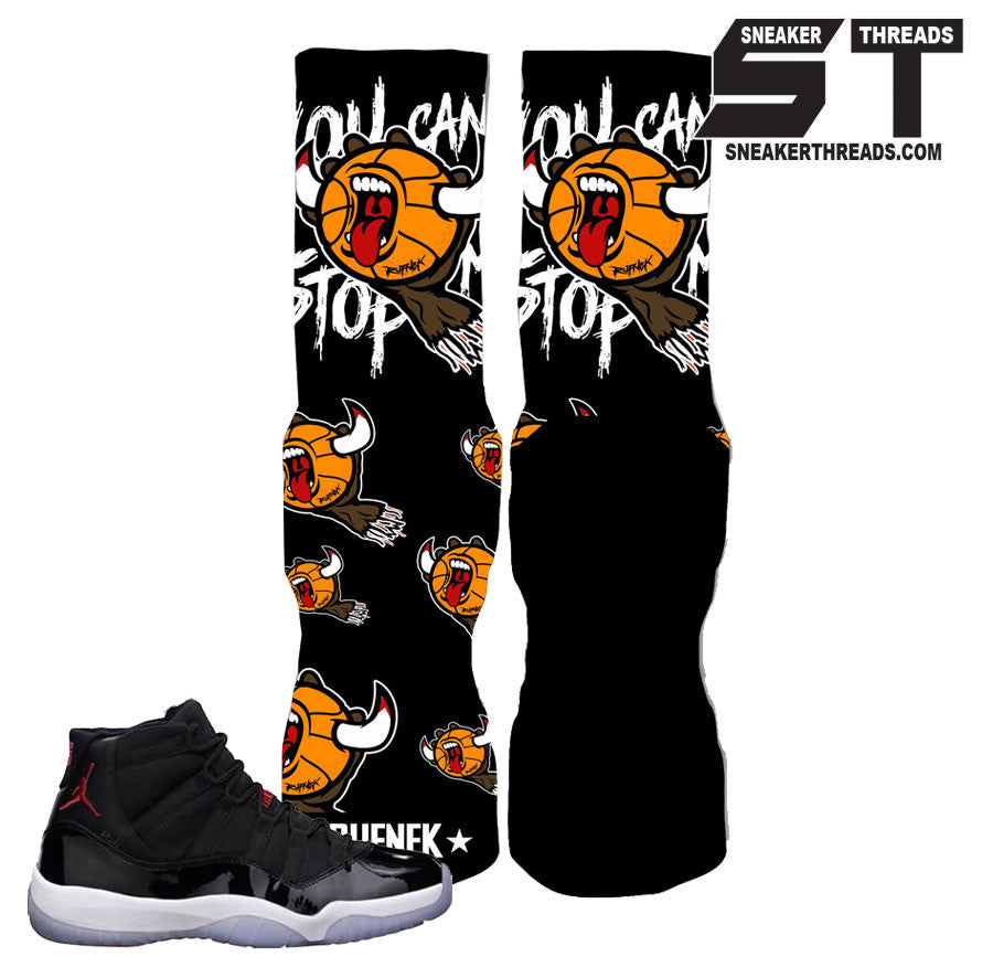 Elite socks match Jordan 11