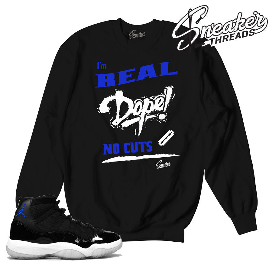 e425f6be6bb5f7 Space jam jordan 11 sweaters match retro 11 outfits.