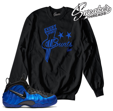 Foamposite hyper cobalt sweaters match foam ben gordon crew.