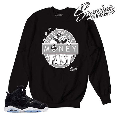 Jordan 6 heiress sweaters match retro 6 crewnecks.