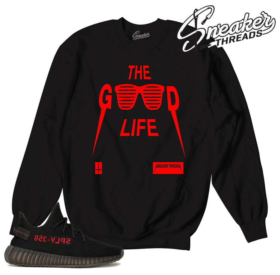 Sweatshirts match yeezy boost core red black sply sweaters.