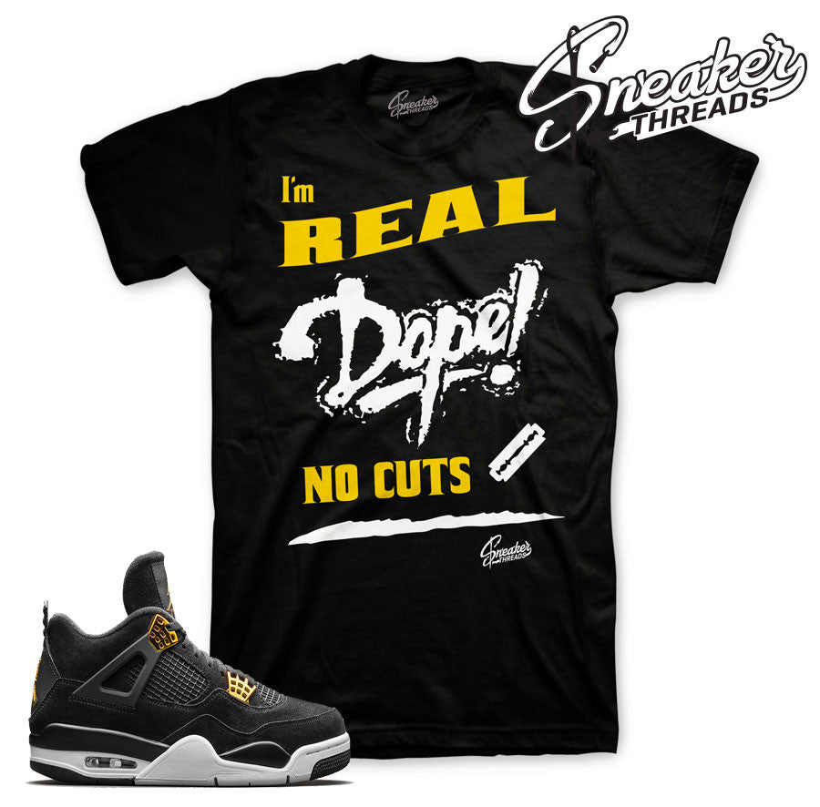 Jordan 4 royalty sneaker match tees retro 4's royalty.