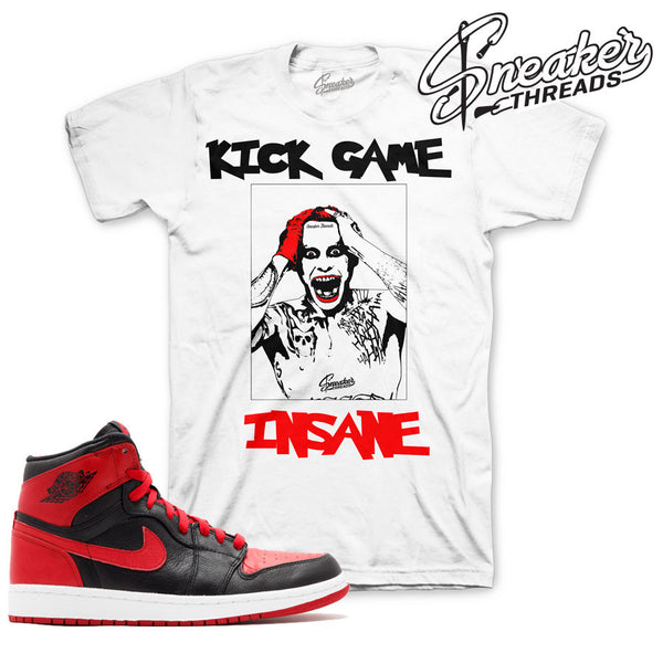 00d166e03603 Retro 1 Jordan banned shirts match banned sneaker matching clothing