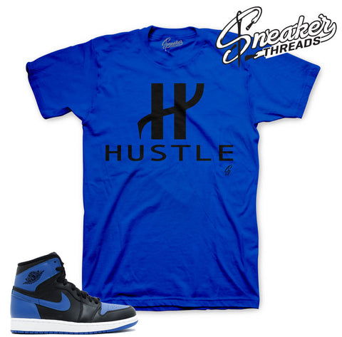 Jordan 1 OG Royal shirts match sneakers.