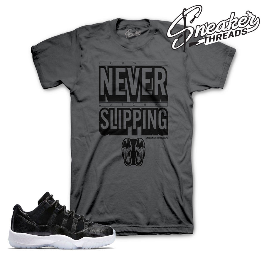 Tees match Jordan 11 low barons retro 11 baron shirts.
