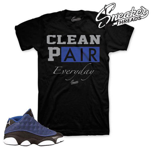 Jordan 13 Brave Blue Everyday Shirt