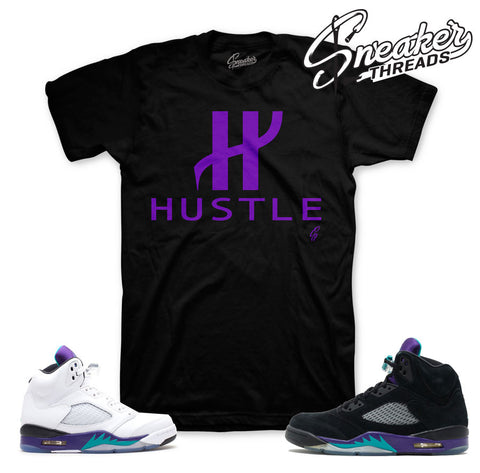 Jordan 5 grapes shirt match shoes | Sneaker Match Tees