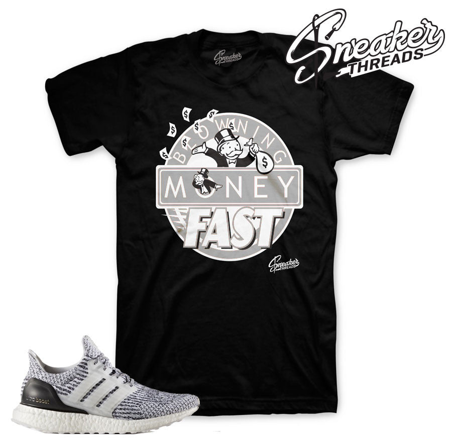 Tees match ultraboost oreo sneakers | Sneaker Tees Match