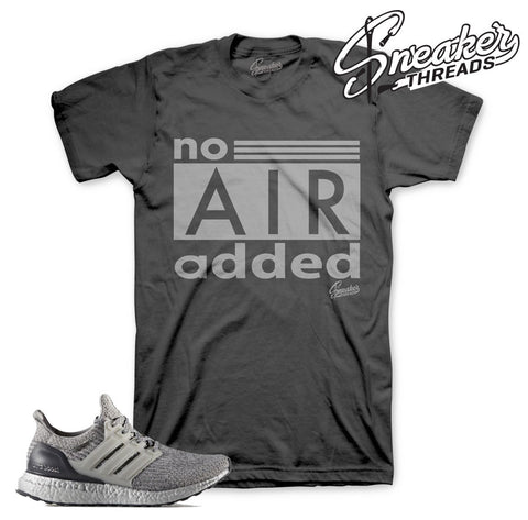Shirts match ultra boost silver pack uncaged sneakers tees.