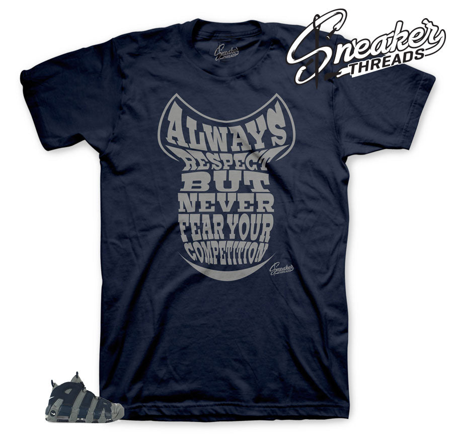 Uptempo loud and clear sneaker tees match hoyas shoes | Uptempo Tees