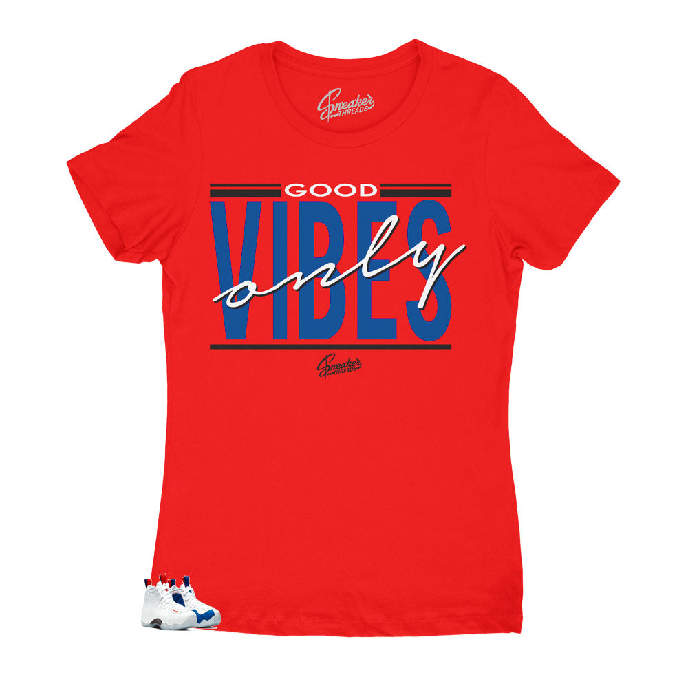 Womens -  Foamposite USA Vibes Shirt