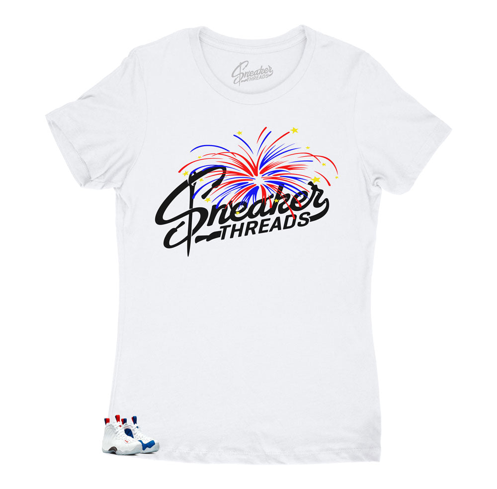 Sneaker Threads original tees for 4Th of July match USA Foams