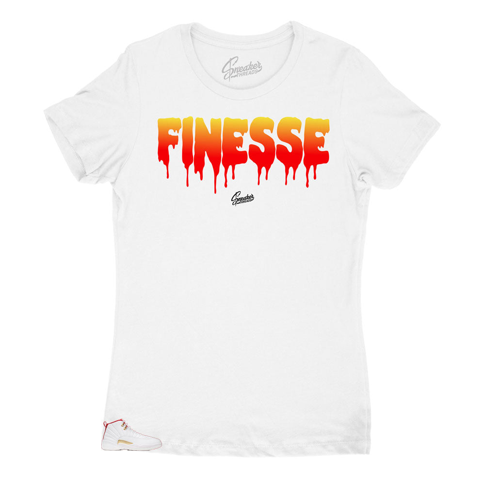 womens t shirts created to match perfectly with the womens Jordan 12s women fiba collection