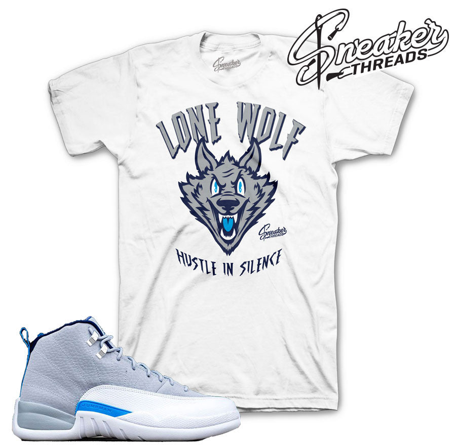 Jordan 12 wolf grey shirts match retro 12 wolf grey outfits.