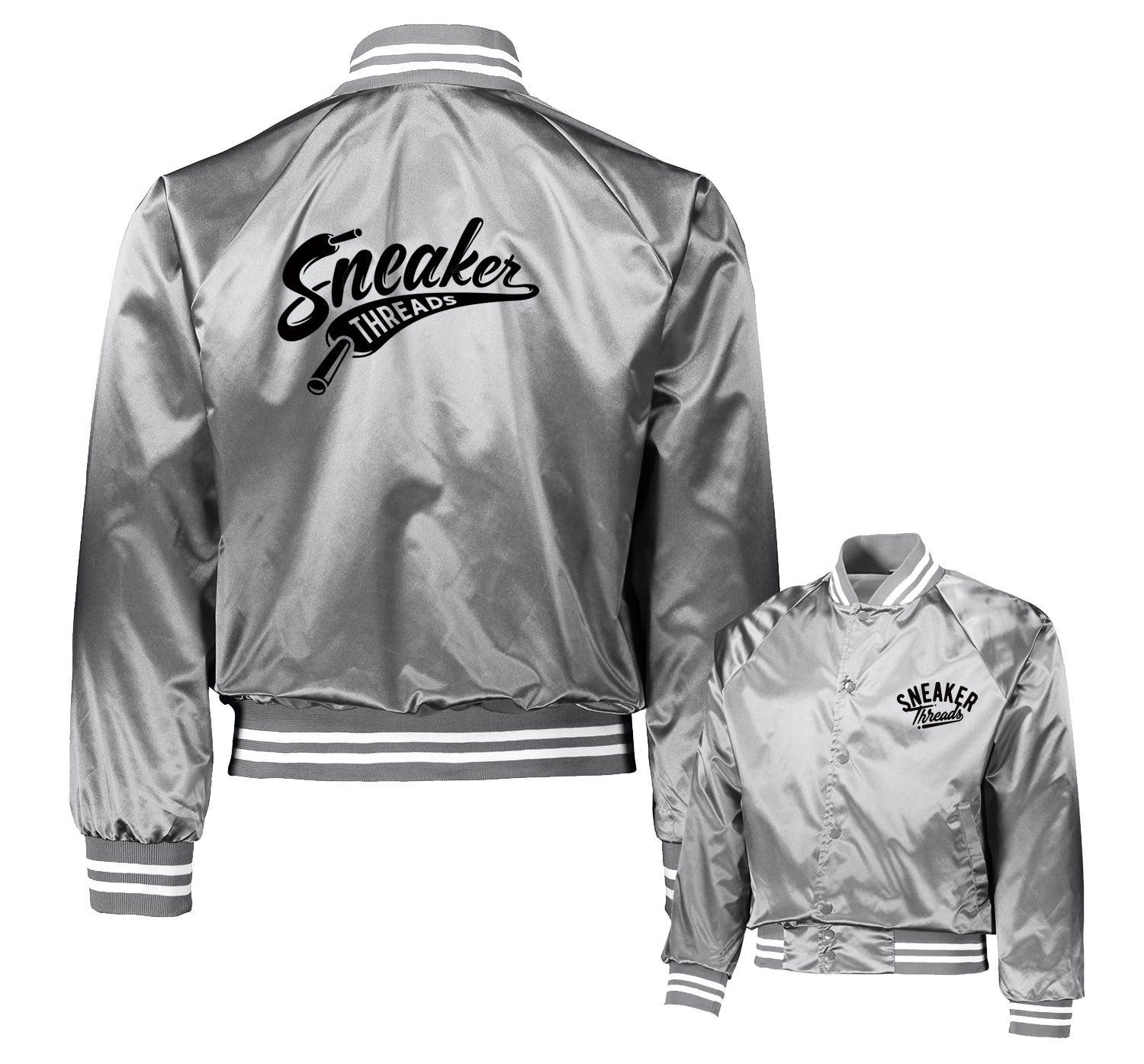Jordan 11 Metallic Silver ST Laces Jacket