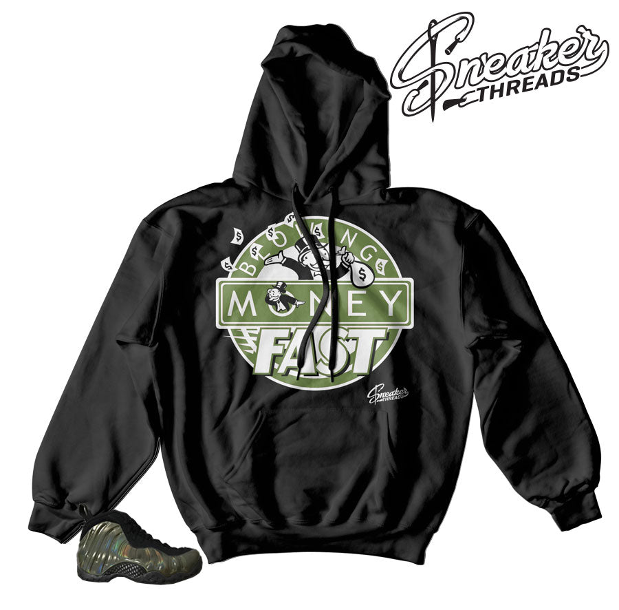 Foamposite legion green hoody match | Official foam hoodies.