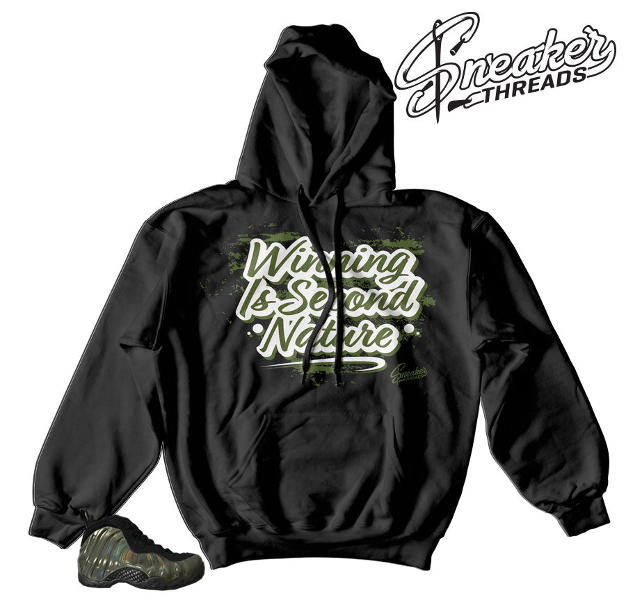 uk availability 7a45f f6fd6 Home Foamposite Legion Green Second Nature Hoody. Share