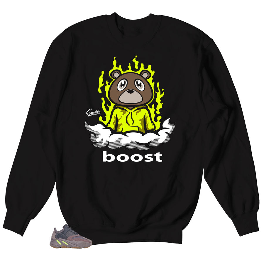 BoostBear Sweater to match Yeezy 700 Mauve