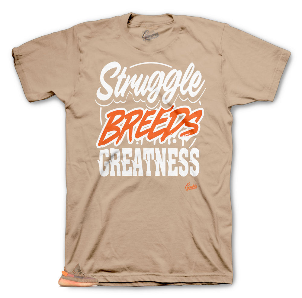Yeezy Clay True form Strugglr Breeds tee