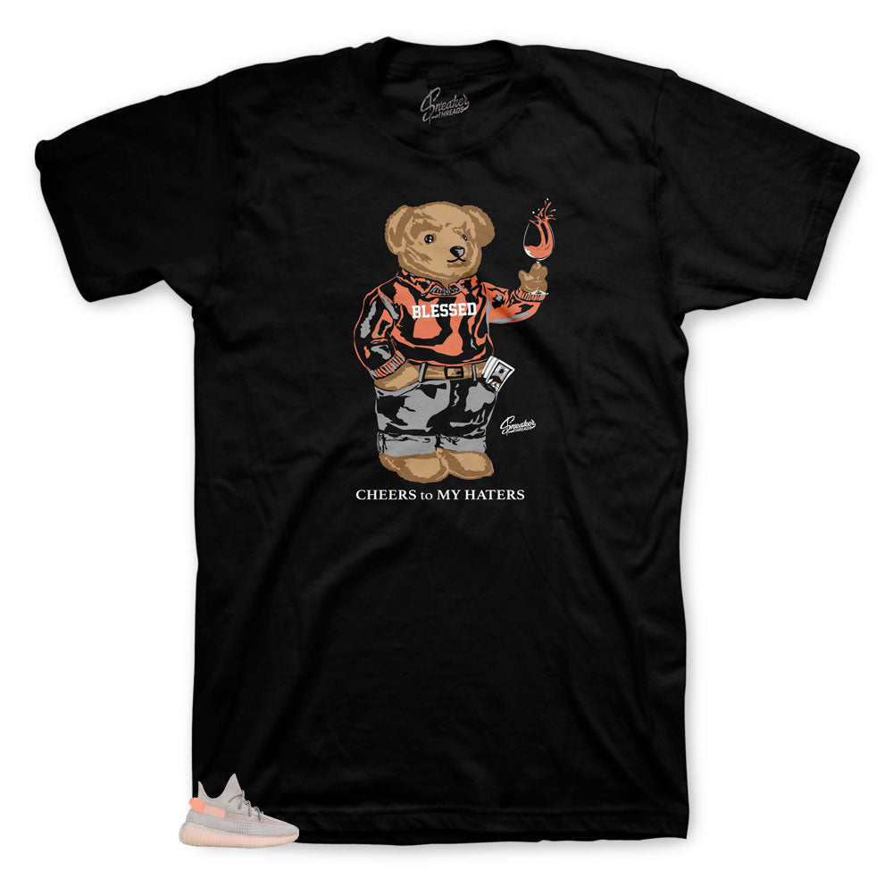 Yeezy True Form Cheers Bear shirt to match sneakers