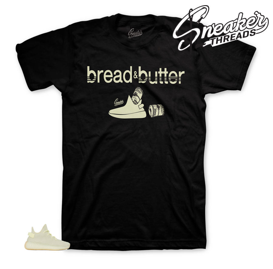 Yeezy boost butter 350 v2 tees shirts match boost butter sneakers.