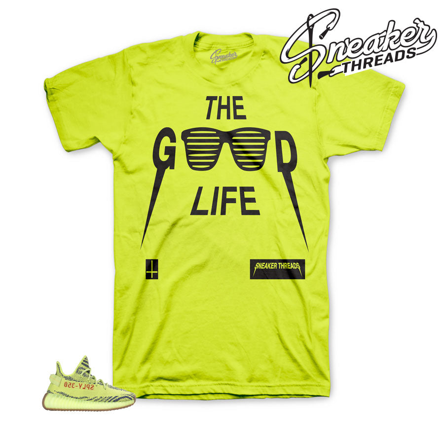 Yeezy boost frozen yellow shirts match sneakers | sneaker tees
