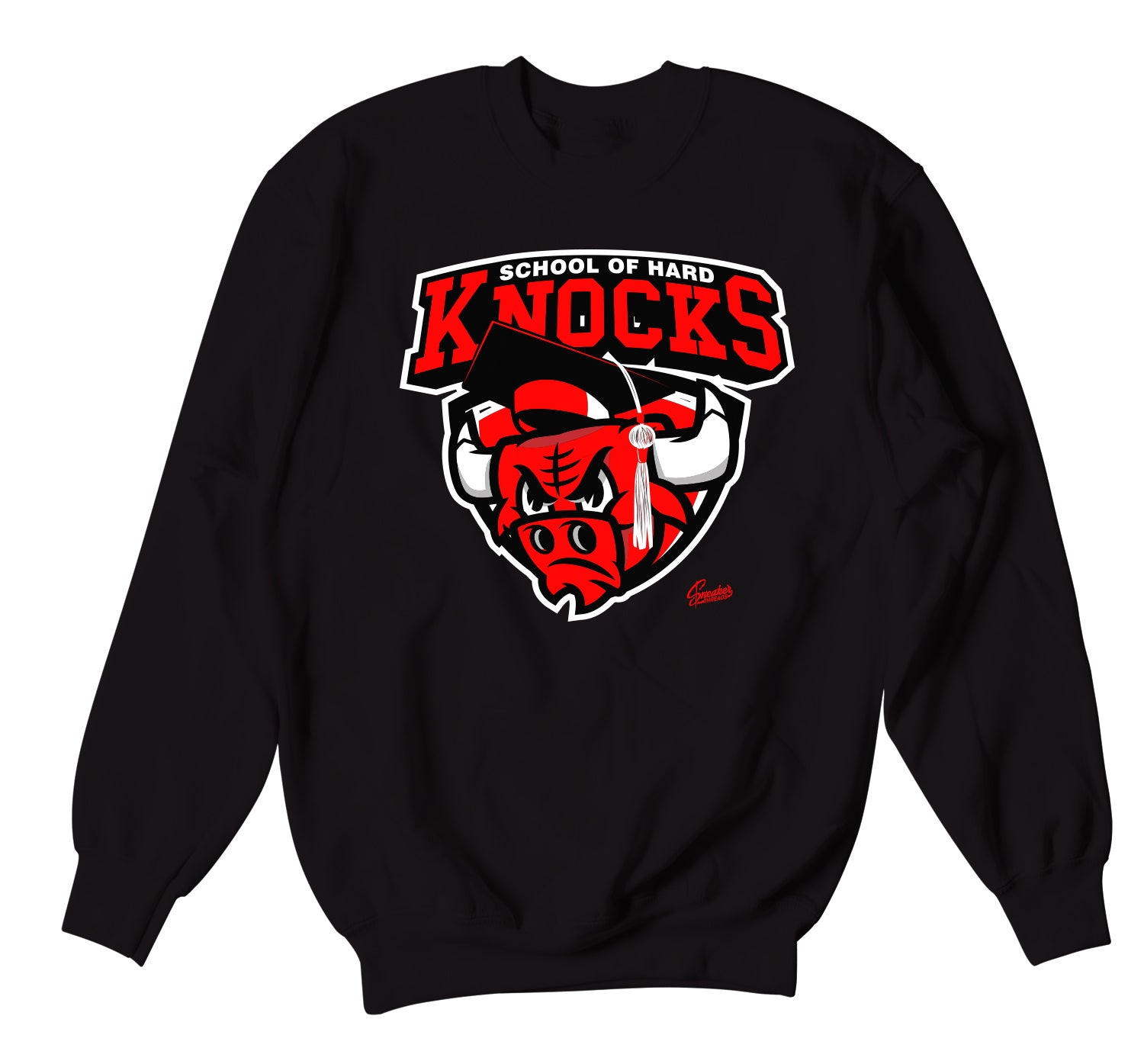 Jordan 11 Bred Hard Knocks Sweater