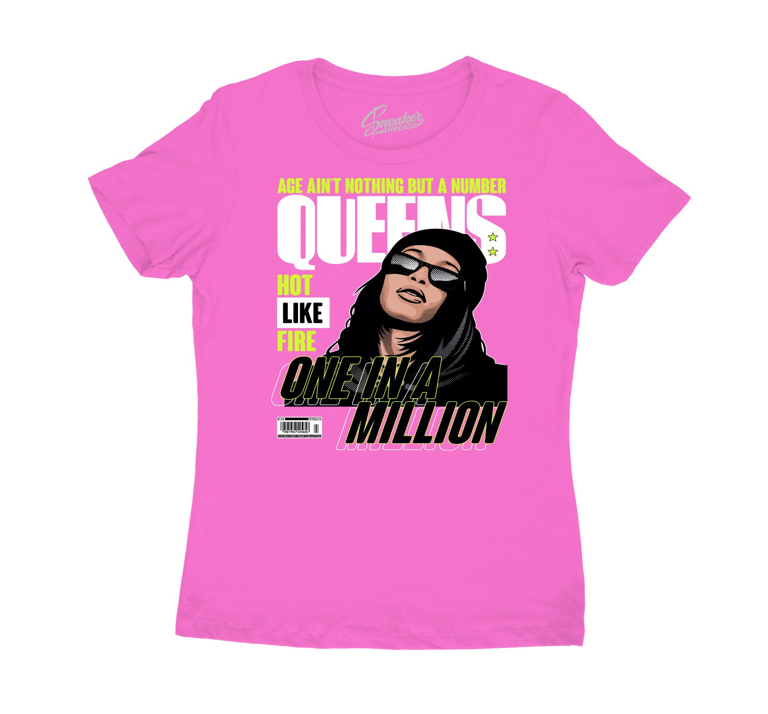 Womens - Lemon Venom Queens Million Shirt