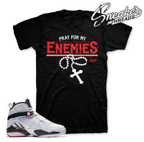 Alternate 8 Jordan official matching tees shirts.