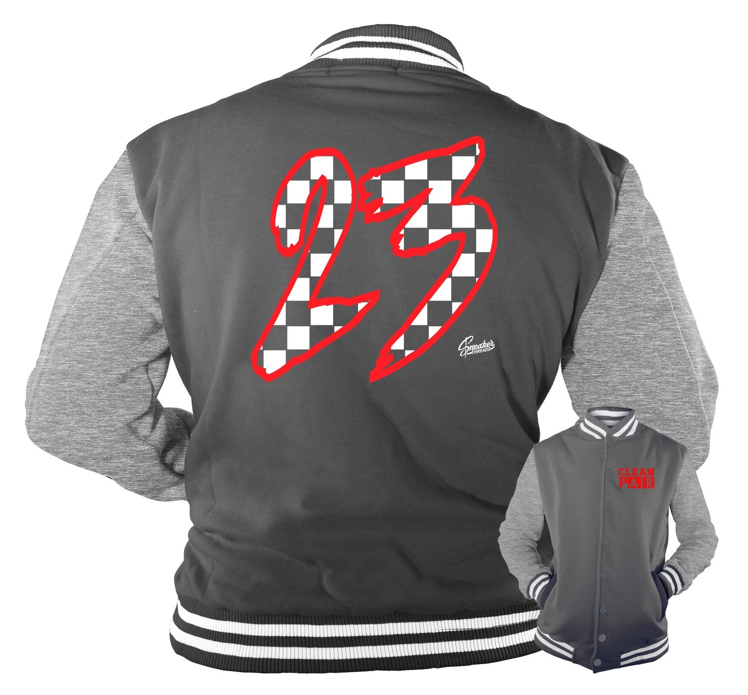 Jacket collection for men designed to match the Jordan 12 dark grey sneakers
