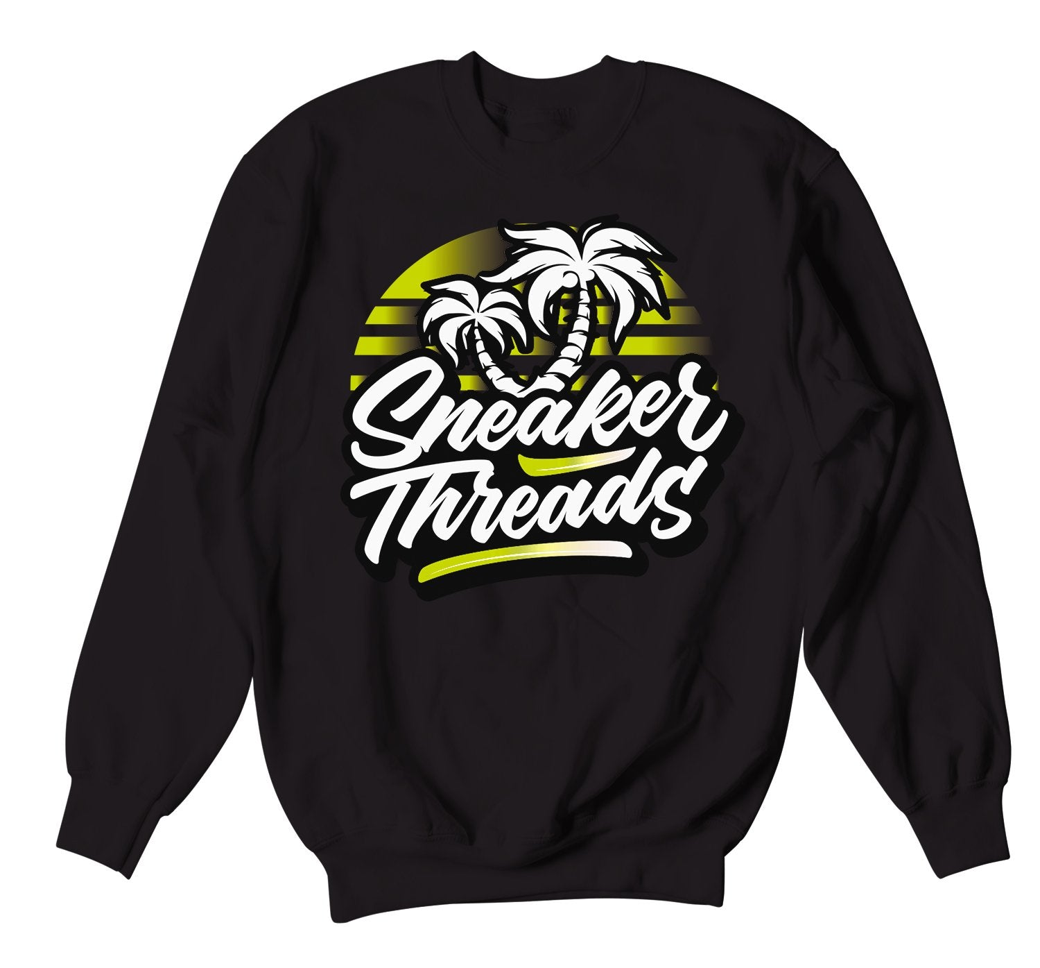 Crewnecks designed to match the yeezy yeezreel sneaker collection
