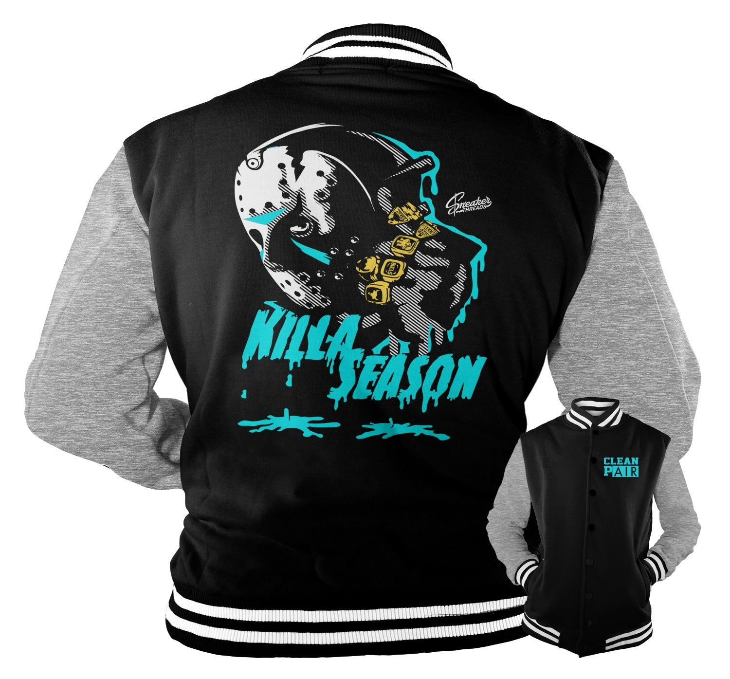 Varsity jackets created to match perfect with the Jordan 5 sneakers