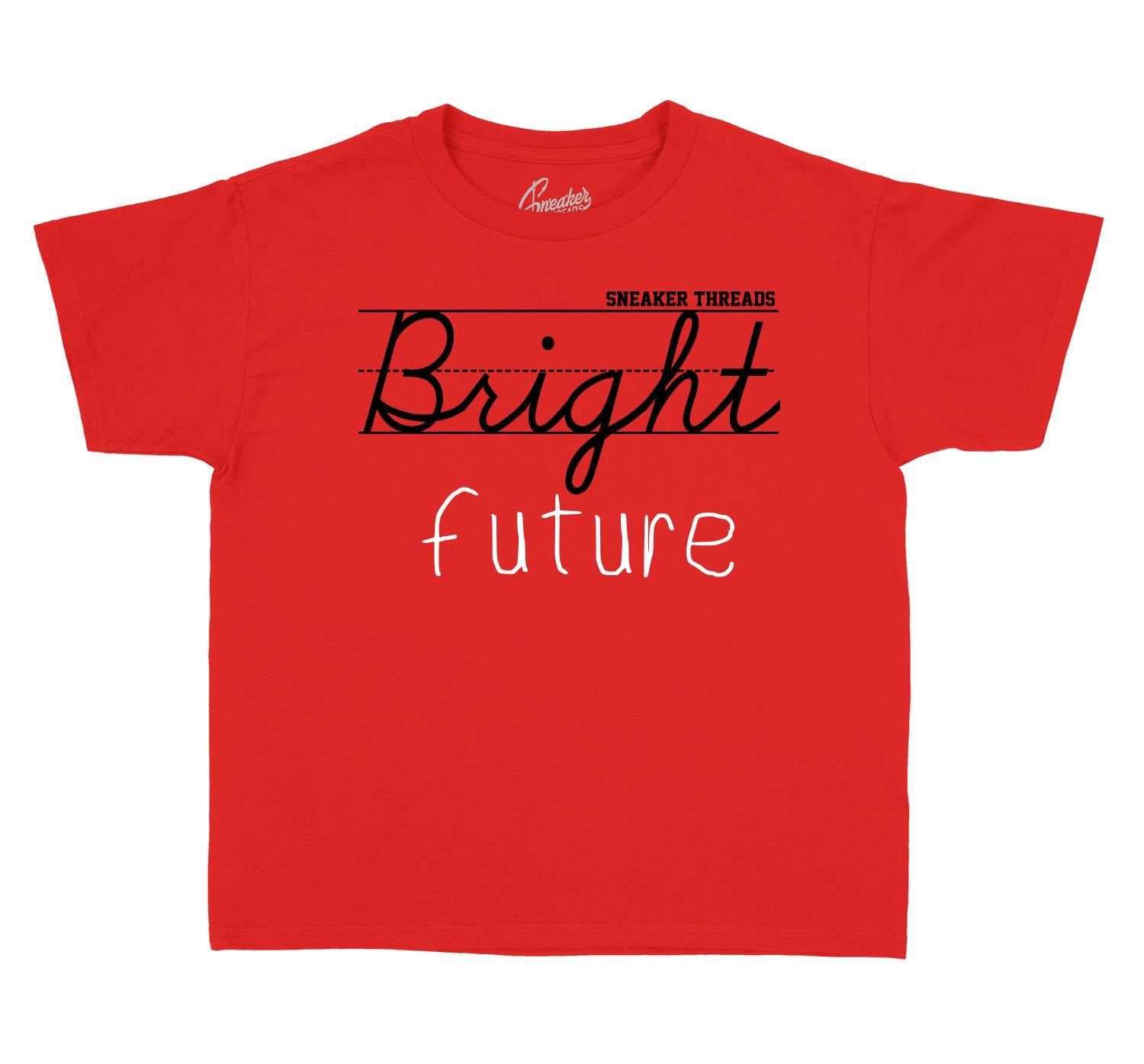 Kids Jordan 11 bred sneaker tees match | bright future shirts match
