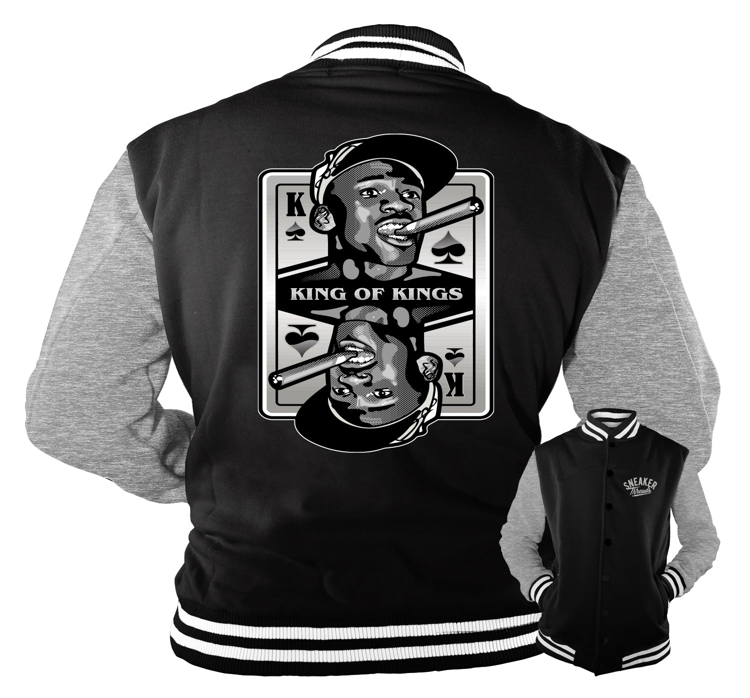 Jordan 1 Silver Toe King Of Kings Jacket