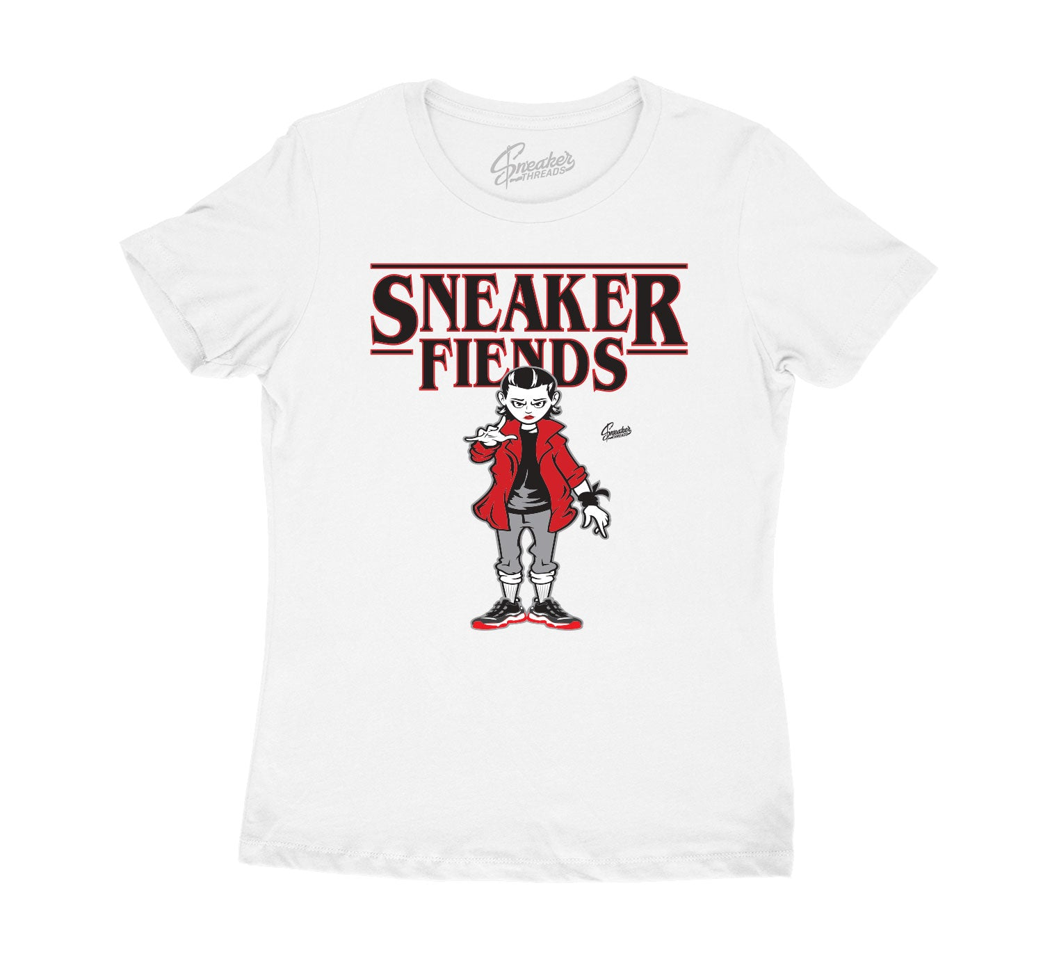 Womens - Bred 11 Sneaker Fiends Shirt