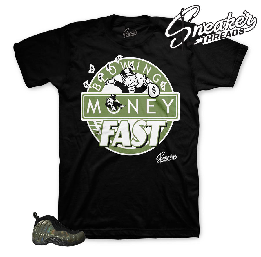 Fresh pair Shirts Match Foams | Legion green foamposite.