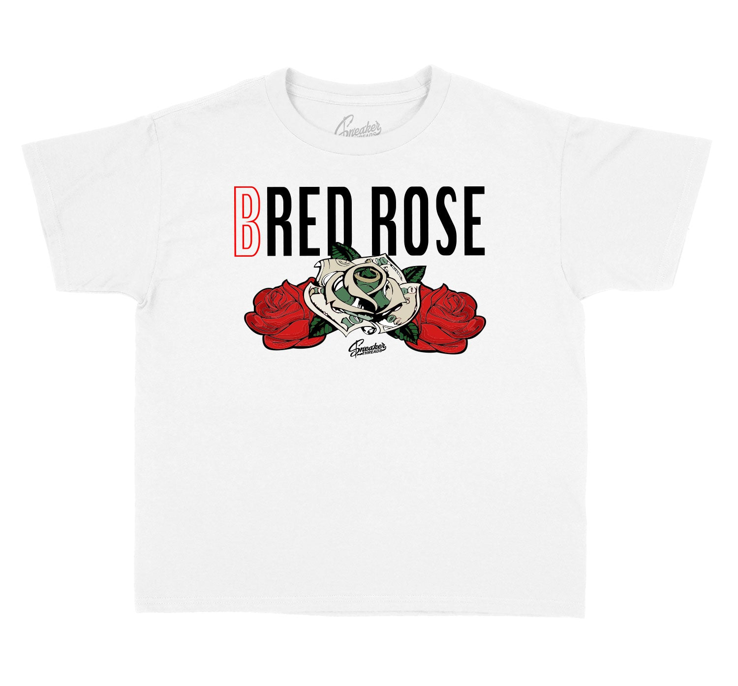 Kids - Bred 11 Bred Rose Shirt